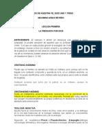 TRABAJO TRINIDAD 2020 (EL DIOS DE NUESTRA FE, MAXIMINO ARIAS REYERO, CELAM
