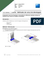 TUTORIAL-Tôlerie-Méthodes de calcul de développés