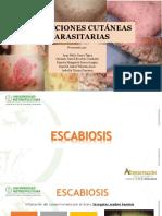 INFECCIONES PARASITARIAS DERMATOLOGÍA (1)