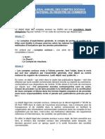 DEPOT LEGAL DES COMPTES SOCIAUX