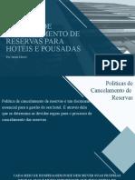 POLÍTICA DE CANCELAMENTO DE RESERVAS PARA HOTÉIS E POUSADAS (1)