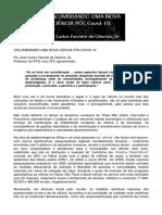Artigo - VISLUMBRANDO UMA NOVA CIENCIA APOS A COVID-19