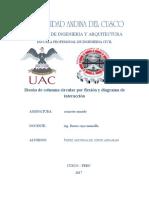 DISEÑO POR FLEXIÓN DE COLUMNAS CIRCULARES