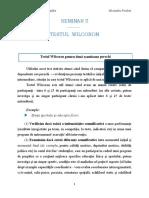 SEMINAR 5 Testul Wilcoxon
