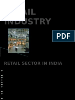Distribution management of retail industry