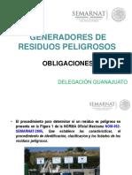 Obligaciones Generadores de Residuos Peligrosos (PROFEPA)