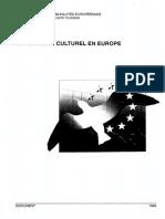 LE TOURISME CULTUREL EN EUROPE