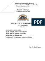 Topographie 1-Cours