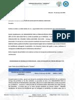 OFICIO ENTREGA DE PORTAFOLIOS TERCERO BGU