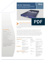 datasheet technical spec Sun V210 - Server