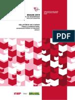 relatório enade fisica 2014