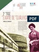 Manual 1ª Fase Exame de Qualificação 2020