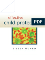 Munro.Effective Child Protection