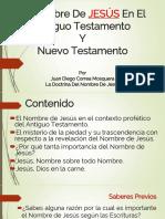El Nombre De JESÚS En El Antiguo Testamento (PDF)