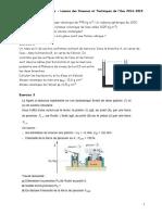 Td Mecanique Des Fluides l3 Ste