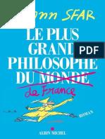Le plus grand philosophe de france by Sfar Joann (z-lib.org).epub