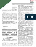 Aprueban Disposiciones Para La Prestacion Excepcional Del s Resolucion Ministerial n 430 2020 Minedu 1896563 1