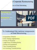 SCR(Deal Structuring)