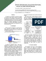 Artigo Científico - Condicionamento de Sinais Analógicos para Aplicações Industriais_rev3