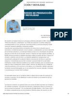 Modos de Producción y Movilidad - Ingenio Nacional