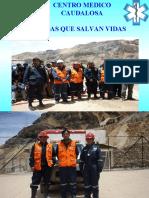 charla primeros auxilios mineros