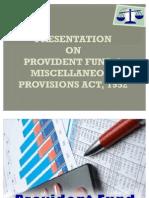 pf fund ppt new