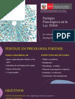 Peritajes Psicológicos en la Ley 30364.pptx
