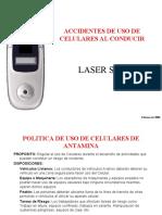 ACCIDENTE VEHICULAR CON EL USO DE CELULARES - 14JULIO06