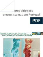 5.8. Fatores abióticos e ecossistemas em Portugal