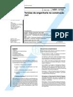 NBR 13752 - pericias de engenharia