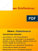 Staphylococcus y Streptococcus
