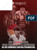 Documento especial | Impunidad en casos emblemáticos de mártires del periodismo peruano