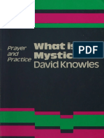 What is Mysticism? - D. Knowles