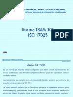 Clase Teorica Nº  2 ISO17025 curso 2018