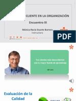 Material III - Servicio al cliente