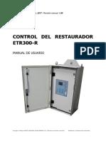 Manual Control ETR300 ESPANOL