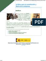 2. Documentación jurídica para la constitución y funcionamiento diario de la empresa