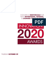 2020 Innovation Awards Program
