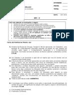 Sociologia Geral e do Direito DI01NA NPC II - 2016-1