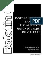 G17_01 GEDISA INSTALACION DE BANDEJAS PORTACABLES