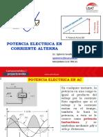 CLASE 09 POTENCIA ELECTRICA ENCORRIENTE ALTERNA