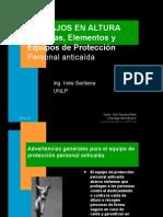 Sistemas, Elementos y Equipos de Protección  Personal anticaída