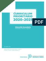 CCRR PRIORITARIO 2020-2021 - SECUNDARIA -