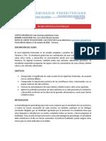 SILABO-EPÍSTOLAS PASTORALES