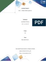 Formato entrega Trabajo Colaborativo – Unidad 3 Fase 5 Trabajo Cambios Químicos - Juan Pablo Gil Rivera