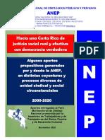 ANEP entregó documento-propuestas para el Foro Multisectorial de Diálogo Nacional de la Asamblea de Trabajadores y de Trabajadoras del Banco Popular y de Desarrollo Comunal
