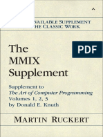 The MMIX supplement supplement to The art of computer programmming volumes 1, 2, 3 by Donald E. Knuth by Knuth, Donald ErvinRuckert, Martin (z-lib.org).pdf