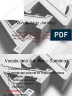Resumo - Vocabulario Juridico - AC 2-3