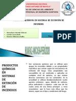 productos quimicos en sistemas de extincion de incendios.pptx