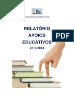 Relatório apoios EDUCATIVOS- 2013-2014
